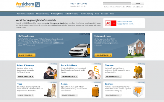 Versichern24 Exit - Insurance Comparison