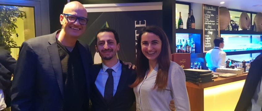 Adeo Ressi, Ivo Radulovski, Anna Radulovski (Founder Institute)